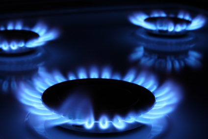 Gas Wärme